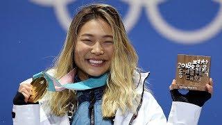 Chloe Kim Wins GOLD at Pyeongchang Olympics 2018, Tweets About Churros & Being Hangry
