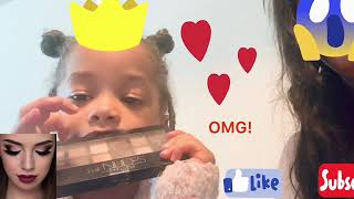 3 Year Old Daughter Does Mommy's Make Up!!