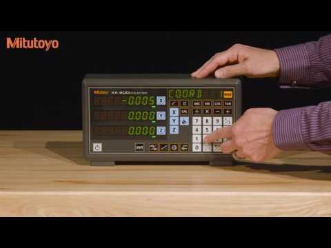 KA 200 Counter Linear Scale Demo