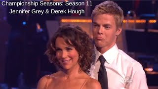 Championship Seasons: Season 11 Jennifer Grey & Derek Hough