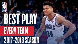 Best Play From Every Team: 2017-2018 Season