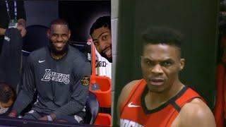 NBA Bubble Restart Funniest Moments!! (Westbrook, Lebron james, Zion)