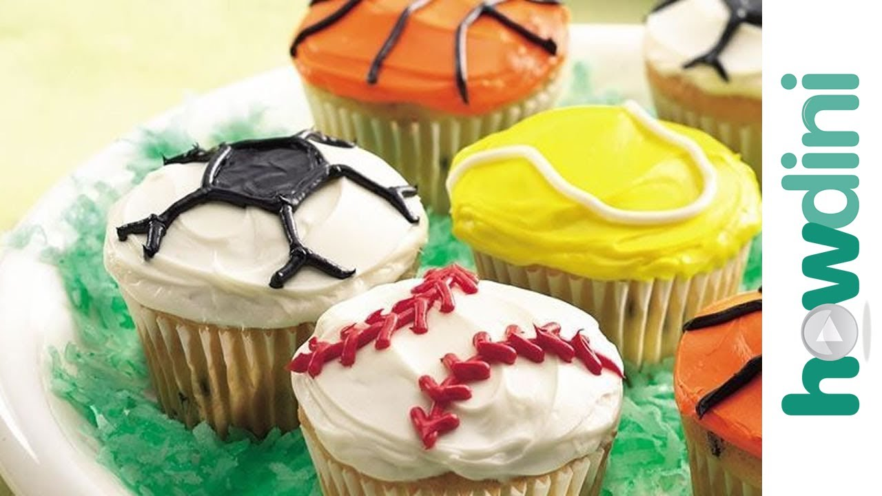 Sports Cupcake Ideas 38