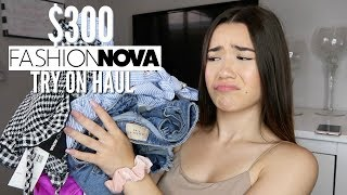 $300 Fashion Nova Try-On Clothing Haul