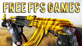 20 Ultimate FREE FPS Games for PC 2021 (ACTIVE Player Base)