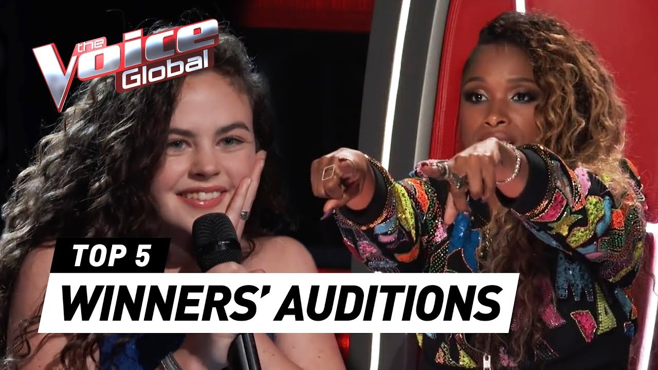 BEST WINNERS' AUDITIONS in The Voice Worldwide