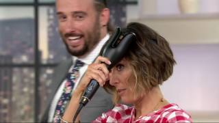 """CHI Spin & Curl 1"""" Ceramic Rotating Curler on QVC"""