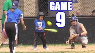 PLAYING ALL NINE POSITIONS IN ONE GAME! | On-Season Softball Series | Game 9