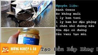 Làm kem bơ đậu phộng béo thơm