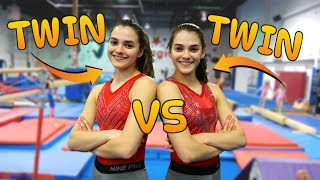 TWIN VS TWIN: Ultimate Gymnastics Challenge Edition