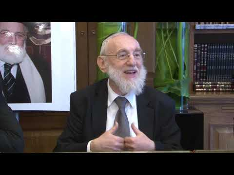 Vezot Haberakha   Grand Rabbin Gugenheim