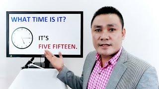 Cách hỏi và trả lời về thời gian Tiếng Anh