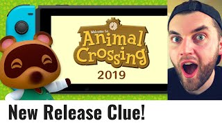 Animal Crossing Switch Release Date - A New Clue!