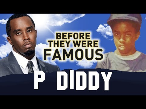 P DIDDY | Before They Were Famous | Brother Love AKA Love AKA Sean Combs AKA Puffy AKA Puff Daddy