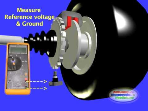 Hall Effect WSS or Wheel Speed Sensor - YouTube