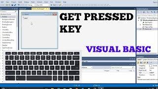 How To Add Keyboard Key Controls in Visual Basic (keypress Tutorial)
