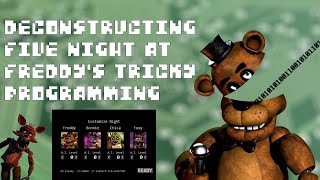 Ruining FNaF by Dissecting the Animatronics' AI | Tech Rules