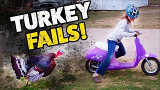 Jerky Turkeys! | Thanksgiving Fails | Funny TBF Videos 2019