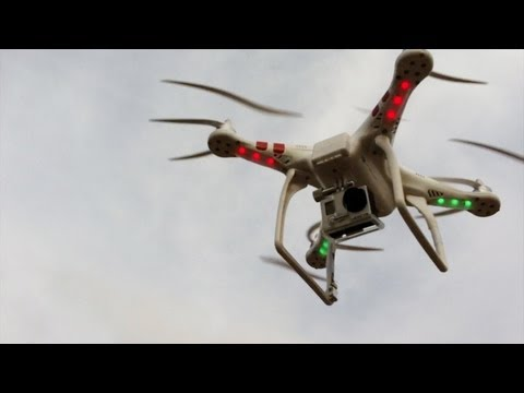 Quadcopter - First Test Flight with GoPro 3