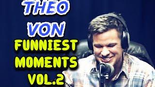 Theo Von | Funniest Podcast Moments Vol.2 (The Church, Steebie Weebie Show, TFATK)