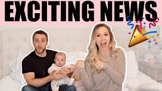HUGE ANNOUNCEMENTS + LIFE & HOUSE UPDATE