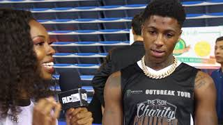 NBA Young Boy Tries To Holla At AUC Reporter
