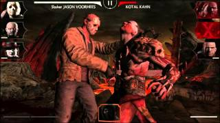 Jason Voorhees makes a visit to Mortal Kombat X mobile
