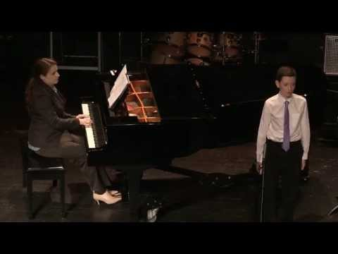 Advanced Students Concert - Piano and Voice (Ages 5-13) - Dec 21, 2014 at University of the Arts