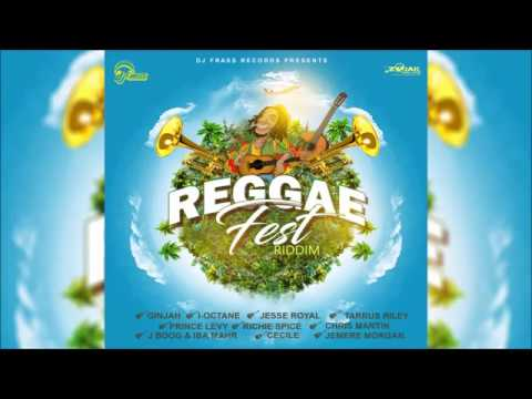 Reggae Fest Riddim Mix  March 2017 (DJ Frass Records) Mix by Djeasy