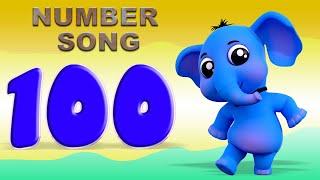 numero de la cancion 1 a 100   Numeros del 1 al 100   Canciones Infantiles   Numbers Song in Spanish