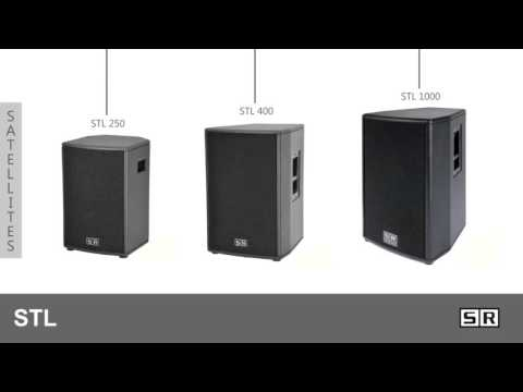 STL Series Active loudspeaker system by SR Technology - Schertler Group