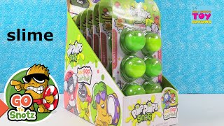 Pop Pops Snotz Series 1 Slime Surprise Figures Toy Review Unboxing | PSToyReviews