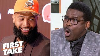 OBJ and Baker Mayfield make the Browns Super Bowl contenders - Michael Irvin | First Take