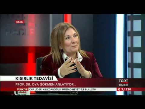 Prof.Dr Oya Gökmen - İnfertilite / TGRT Haber