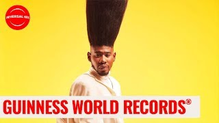 Tallest Hair EVER! | Guinness World Records:Officially Amazing | Universal Kids
