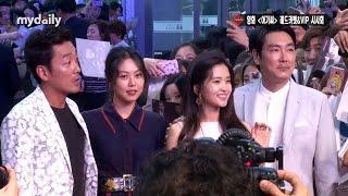 '아가씨' 김민희·김태리·하정우·조진웅(Kim Min hee-Kim Tae ri-Ha jung woo-Jo jin woong), 칸보다 뜨거운 韓레드카펫 [MD동영상]
