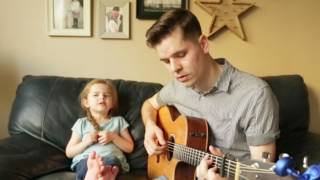You've Got a Friend In Me - LIVE Performance by 4-year-old Claire Ryann and Dad
