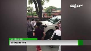 (VTC14)_Hà Nội: Đi thi tốt nghiệp THPT, thí sinh bị xe bán tải đâm trọng thương