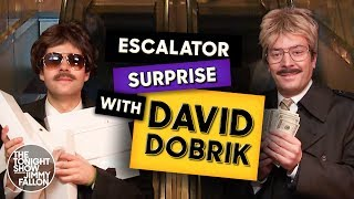David Dobrik and Jimmy Surprising People with $100 Bills and iPads