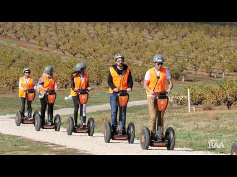 video Seppeltsfield Winery Segway Tour