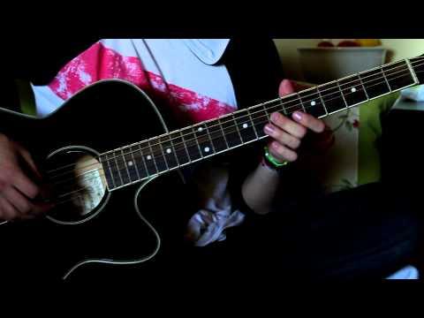 Como Tocar One De Metallica En Guitarra Acoustica HD PARTE 2