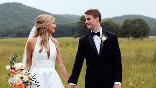 Friends Since 2nd Grade Get Married // Pursell Farms Wedding // Payton & Matthew