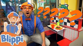 Blippi Learns About Jobs At An Indoor Playground! | Educational Videos For Kids
