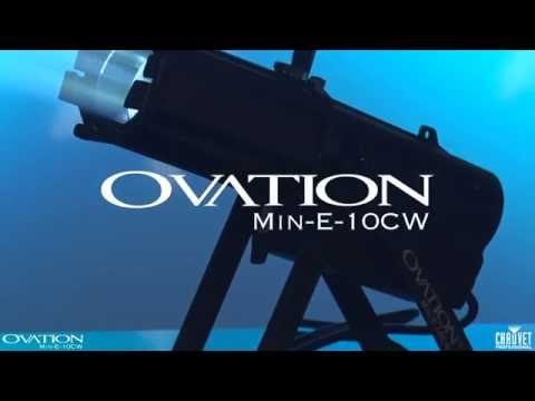 Chauvet Professional Ovation Min-E-10CW Cool White Ellipsoidal Light