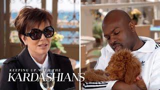 An Adorable Dog Upstages Kris Jenner | KUWTK | E!