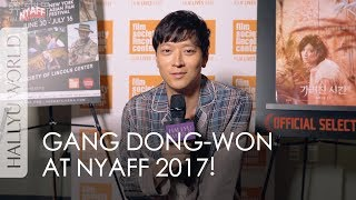 Kang Dong-won in New York (Exclusive Interview)