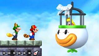 New Super Mario Bros. 2 - All Castle Levels (2 Player)