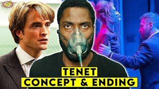 TENET : Concept & Ending Explained || ComicVerse