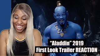 ALADDIN (2019) Special Look Teaser Trailer #2 - REACTION