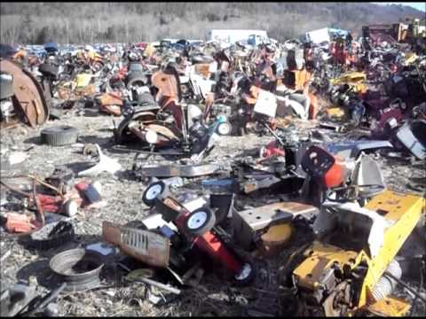 Lawn Mower Junk Yard Youtube
